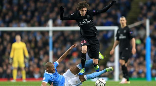 Adrien Rabiot is wanted by both Liverpool and Manchester City (Andrew Milligan/PA)