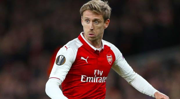 Nacho Monreal is happy at Arsenal (Nick Potts/PA)
