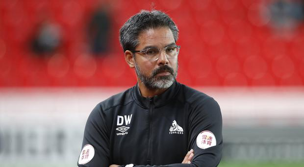 David Wagner's Huddersfield face Crystal Palace on Saturday (Martin Rickett/PA).