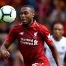 Daniel Sturridge could come in to the Liverpool line-up against PSG tomorrow night.