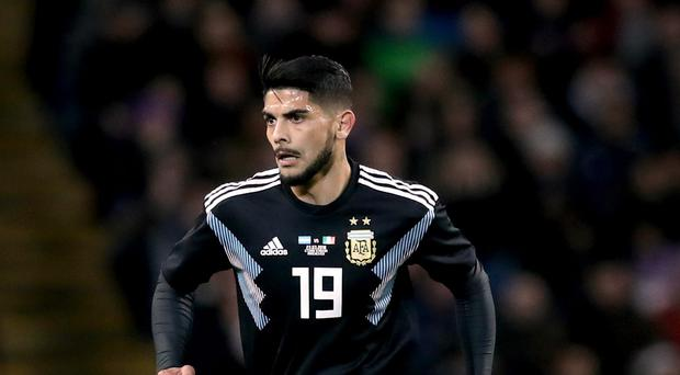 Ever Banega is reportedly on Arsenal's radar (PA)