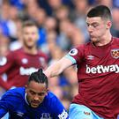 "Declan Rice says West Ham are ""fired up"" for the Chelsea clash (Peter Byrne/PA)"