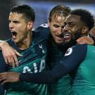 Tottenham returned to winning ways (Steven Paston/PA)