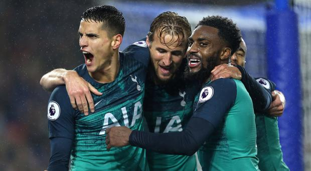 Tottenham returned to winning ways at Brighton on Saturday night (Steven Paston/PA)
