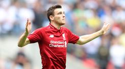 Liverpool defender Andrew Robertson believes the Premier League title race is opening up (Adam Davy/PA)
