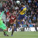Manolo Gabbiadini could have given Southampton all three points (Mark Kerton/PA)
