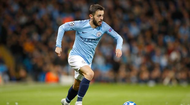 Bernardo Silva feels Manchester City are firing (Martin Rickett/PA)