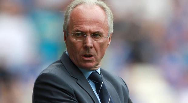 Sven-Goran Eriksson was in charge at Leicester for just over a year (Nick Potts/PA)