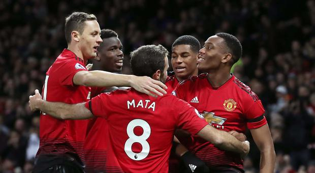 pogba and martial fire manchester united to victory over in form