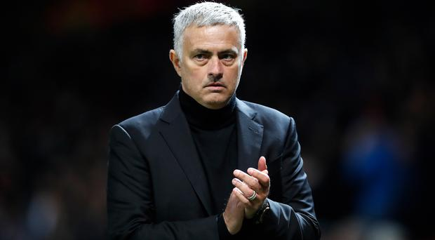 Footage showed Jose Mourinho making comments in his mother tongue (Martin Rickett/PA)