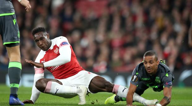 Danny Welbeck has undergone two operations on his broken ankle. (Nick Potts/PA)