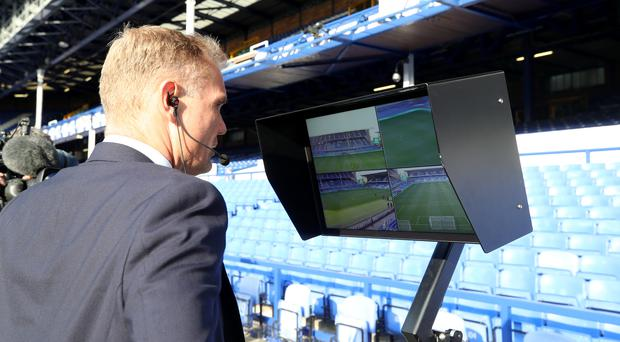 The VAR system has already been used successfully in cup competitions. (Peter Byrne/PA Images)