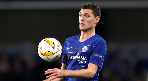Chelsea have refused to comment on a report of alleged illegal payments made in relation to the recruitment of Andreas Christensen (Nick Potts/PA Images)