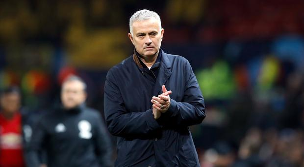 Jose Mourinho (pictured) and Unai Emery have their first Premier League meeting on Wednesday night (Martin Rickett/PA)
