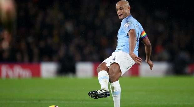 Manchester City's Vincent Kompany has reportedly caught the eye of Barcelona (Nick Potts/PA)