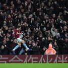 Robert Snodgrass opened the scoring for West Ham (Chris Radburn/PA)