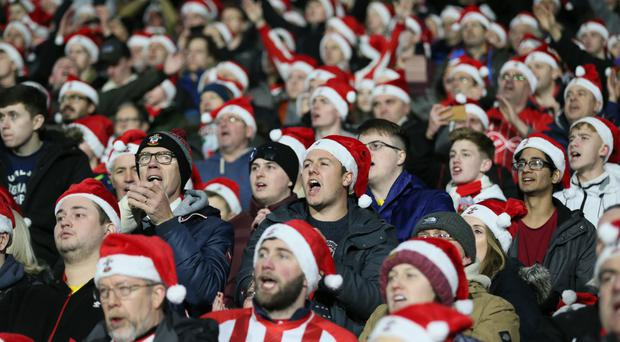 It will be a happy Christmas for Southampton fans thanks to the impact made by new manager Ralph Hasenhuttl (Richard Sellers/PA)