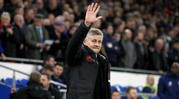 Manchester United interim manager Ole Gunnar Solskjaer won his first game in charge at Cardiff 5-1 (Nick Potts/PA)