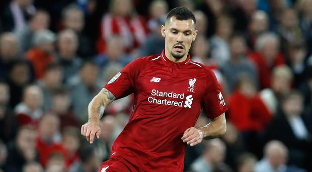 Dejan Lovren believes Liverpool have the right mentality to maintain their position at the top of the table (Martin Rickett/PA).