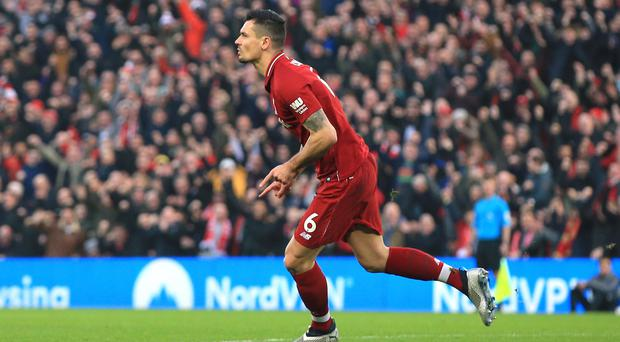Liverpool's Dejan Lovren believes manager Jurgen Klopp has found the perfect match in his squad make up (Peter Byrne/PA).