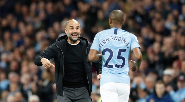 Fernandinho's importance to Manchester City has been clear in recent weeks (Martin Rickett/PA)