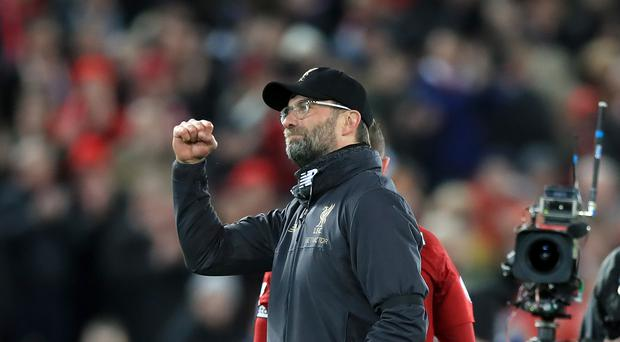 Liverpool manager Jurgen Klopp is refusing to get carried away (Peter Byrne/PA)