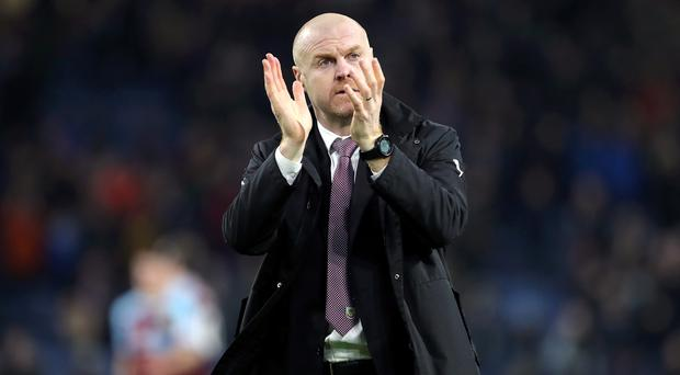 Sean Dyche may have many reasons to remember a win over West Ham fondly (Richard Sellers/PA)