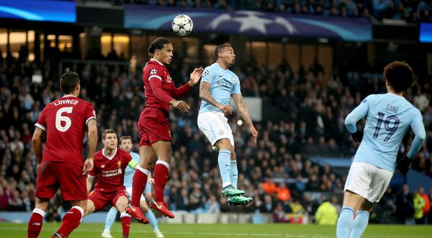Manchester City and Liverpool clash again on Thursday (Nick Potts/PA)