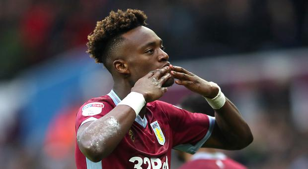 b8fe7ac0dfd46a Tammy Abraham has been on loan at Aston Villa from Chelsea this season  (Nick Potts