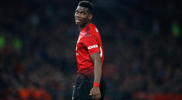 Paul Pogba missed the match against Reading (PA/Martin Rickett)
