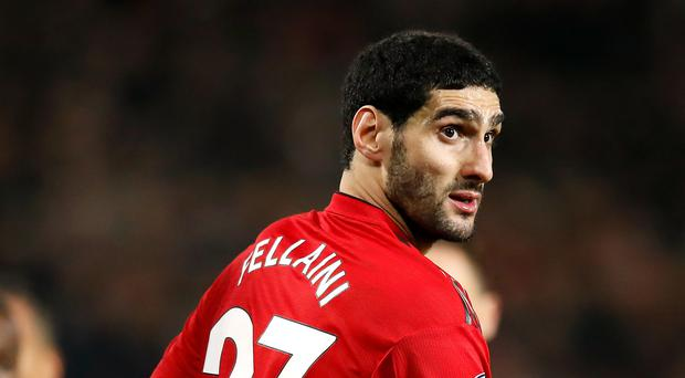 e1bd9b03e Manchester United s Marouane Fellaini has not featured as regularly in the  starting XI under Ole Gunnar