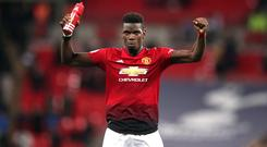 Manchester United's Paul Pogba has urged the side to carry on their winning run (John Walton/PA)