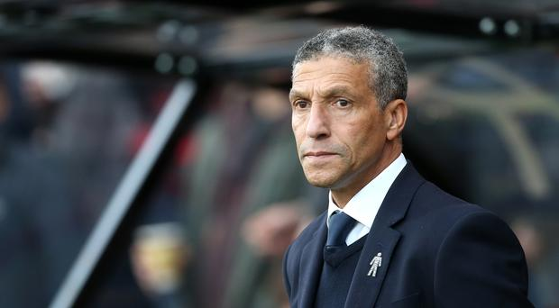 Brighton manager Chris Hughton has been impressed by the start Ole Gunnar Solskjaer has made as Manchester United manager (Mark Kerton/PA).