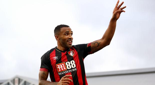 Bournemouth forward Callum Wilson has been linked with a move to Chelsea (John Walton/PA)