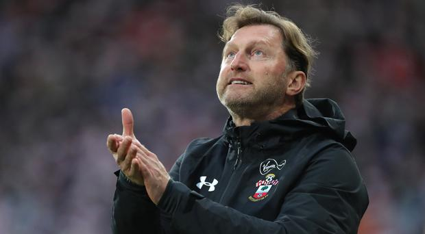 Southampton manager Ralph Hasenhuttl is preparing his side for a key set of Premier League games (Richard Sellers/PA)