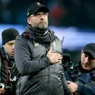 Liverpool manager Jurgen Klopp believes long-term contracts for key players have given them a solid foundation for success (Richard Sellers/PA)