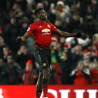 Paul Pogba put Manchester United ahead against Brighton (Martin Rickett/PA)