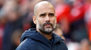 Pep Guardiola said he expected better after Manchester City's 3-0 win at Huddersfield (Martin Rickett/PA)