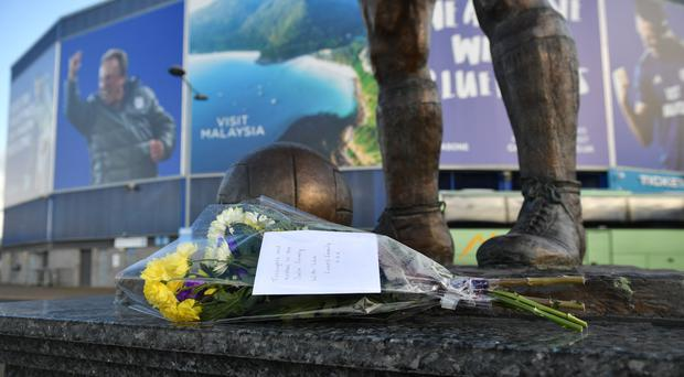 The search for Emiliano Sala's missing plane has been suspended (Ben Birchall/PA)