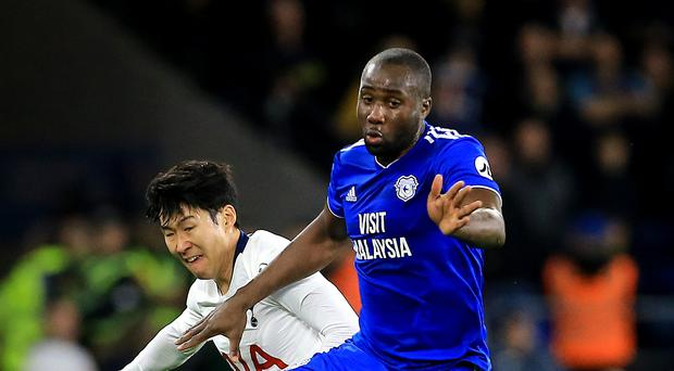 Sol Bamba (right) says some Cardiff players are afraid to fly following the disappearance of new team-mate Emiliano Sala (Mark Kerton/PA)