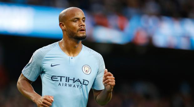 Vincent Kompany is using his testimonial season at Manchester City to launch and promote a new homelessness charity, Tackle4MCR (Martin Rickett/PA).