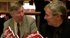 File photo dated 01-03-2001 of Eric Harrison (right) with Manchester United manager Sir Alex Ferguson.