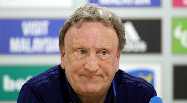 Neil Warnock was downbeat after Cardiff's 5-1 Premier League home defeat to Watford (Aaron Chown/PA)