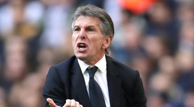 Leicester manager Claude Puel is under pressure after another defeat (John Walton/PA)