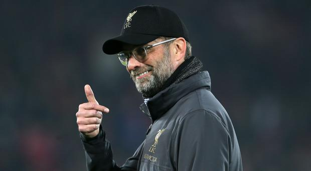 Liverpool manager Jurgen Klopp is not panicking after falling behind in the title race (Richard Sellers/PA)