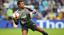 Former Brazil international Dida (pictured) believes compatriots Alisson Becker and Ederson are at the forefront of world goalkeeping (Martin Rickett/PA)