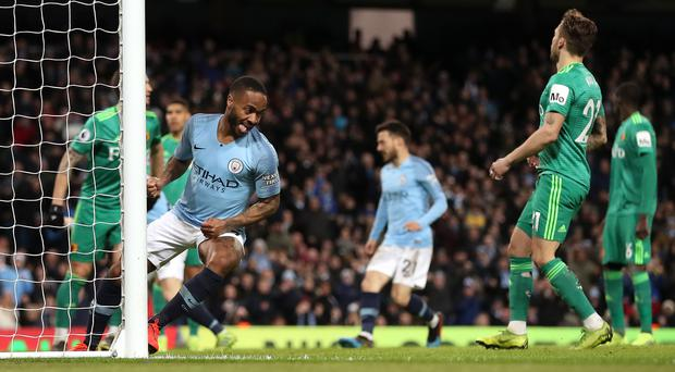 Man City move four points clear after Raheem Sterling s quickfire ... 02344a7747a