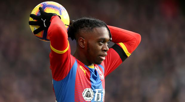 Aaron Wan-Bissaka will have to wait for a first England call (Paul Harding/PA)