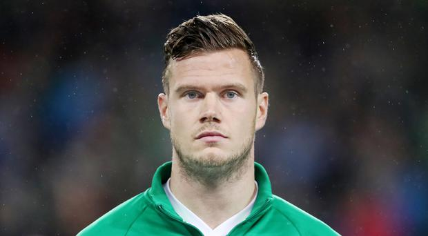 Kevin Long has been drafted into the Republic of Ireland squad for the Euro 2020 qualifiers against Gibraltar and Georgia (Niall Carson/PA)