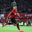 Manchester United's Andreas Pereira could be heading on loan next term (Martin Rickett/PA)